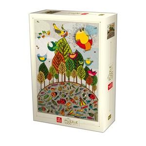 """Deico (76007) - """"Nature Puzzle"""" - 1000 piezas"""