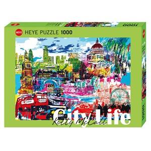 "Heye (29682) - Kitty McCall: ""I Love London!"" - 1000 piezas"