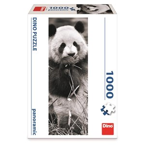 """Dino (54544) - """"Panda in Grass"""" - 1000 piezas"""