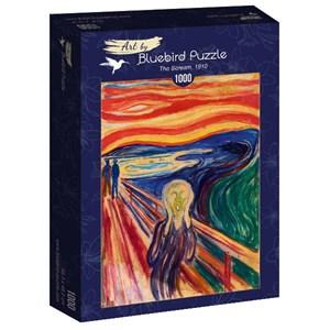 "Bluebird Puzzle (60058) - Edvard Munch: ""The Scream, 1910"" - 1000 piezas"