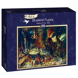 "Bluebird Puzzle (60091) - Pieter Brueghel the Elder: ""Allegory of Fire, 1608"" - 1000 piezas"