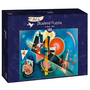 "Bluebird Puzzle (60021) - Vassily Kandinsky: ""In Blue, 1925"" - 1000 piezas"