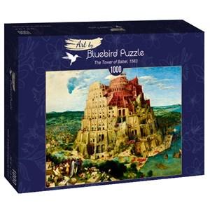 """Bluebird Puzzle (60027) - Pieter Brueghel the Elder: """"The Tower of Babel, 1563"""" - 1000 piezas"""