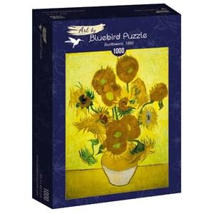 "Bluebird Puzzle (60003) - Vincent van Gogh: ""Sunflowers, 1889"" - 1000 piezas"