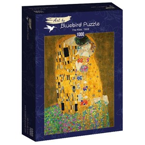 "Bluebird Puzzle (60015) - Gustav Klimt: ""The Kiss, 1908"" - 1000 piezas"