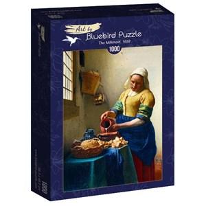 "Bluebird Puzzle (60066) - Johannes Vermeer: ""The Milkmaid, 1658"" - 1000 piezas"