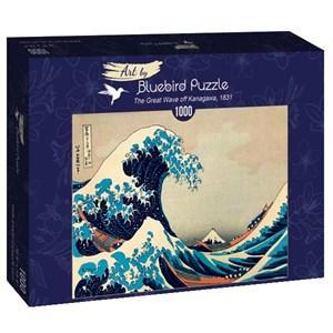 "Bluebird Puzzle (60045) - Hokusai: ""The Great Wave off Kanagawa, 1831"" - 1000 piezas"