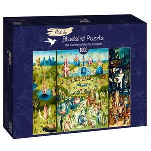 """Bluebird Puzzle (60059) - Hieronymus Bosch: """"The Garden of Earthly Delights"""" - 1000 piezas"""