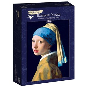 "Bluebird Puzzle (60065) - Johannes Vermeer: ""Girl with a Pearl Earring, 1665"" - 1000 piezas"