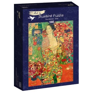 "Bluebird Puzzle (60037) - Gustav Klimt: ""The Dancer, 1918"" - 1000 piezas"