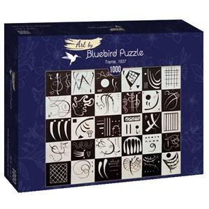 "Bluebird Puzzle (60051) - Vassily Kandinsky: ""Trente, 1937"" - 1000 piezas"