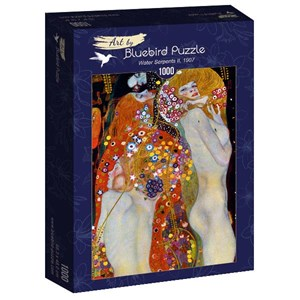"Bluebird Puzzle (60052) - Gustav Klimt: ""Water Serpents II, 1907"" - 1000 piezas"