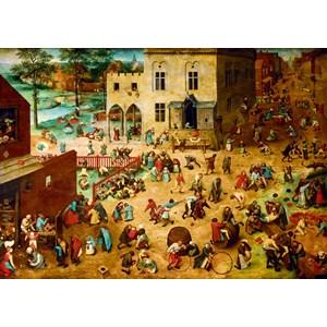 "Bluebird Puzzle (60034) - Pieter Brueghel the Elder: ""Children's Games, 1560"" - 1000 piezas"