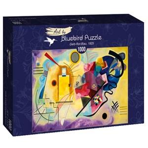 "Bluebird Puzzle (60036) - Vassily Kandinsky: ""Gelb-Rot-Blau, 1925"" - 1000 piezas"