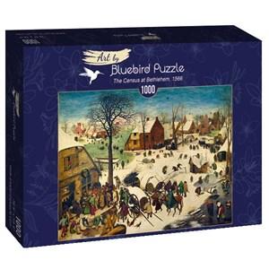 """Bluebird Puzzle (60026) - Pieter Brueghel the Elder: """"The Census at Bethlehem, 1566"""" - 1000 piezas"""