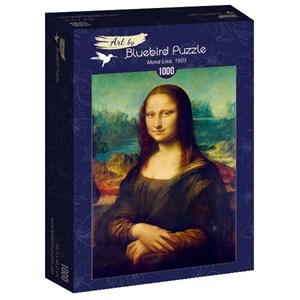 """Bluebird Puzzle (60008) - Leonardo Da Vinci: """"Mona Lisa, 1503"""" - 1000 piezas"""