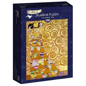 "Bluebird Puzzle (60017) - Gustav Klimt: ""The Waiting, 1905"" - 1000 piezas"