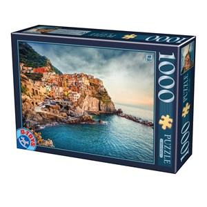 """D-Toys (75956) - """"Manarola Cinque Terre"""" - 1000 piezas"""