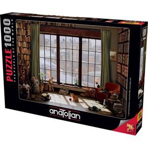 "Anatolian (1065) - ""Window Cats"" - 1000 piezas"