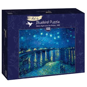 "Bluebird Puzzle (60002) - Vincent van Gogh: ""Starry Night over the Rhône, 1888"" - 1000 piezas"
