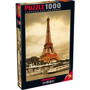 "Anatolian (PER3193) - Sefik Bayram: ""The Eiffel Tower"" - 1000 piezas"