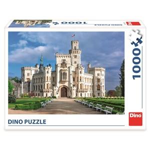"""Dino (53287) - """"Hluboka Castle"""" - 1000 piezas"""