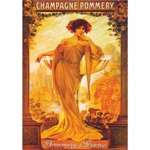 "D-Toys (69474) - ""Vintage Posters, Champagne Pommery"" - 1000 piezas"