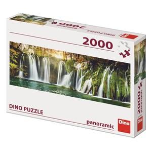 """Dino (56208) - """"Plitvice Waterfalls"""" - 2000 piezas"""