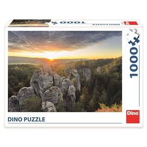 "Dino (53282) - ""Rocky Mountains"" - 1000 piezas"