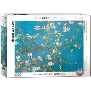 "Eurographics (6000-0153) - Vincent van Gogh: ""Almond Branches in Bloom"" - 1000 piezas"