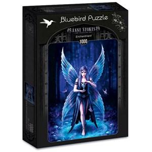 """Bluebird Puzzle (70438) - Anne Stokes: """"Enchantment"""" - 1000 piezas"""