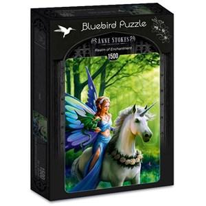 "Bluebird Puzzle (70440) - Anne Stokes: ""Realm of Enchantment"" - 1500 piezas"