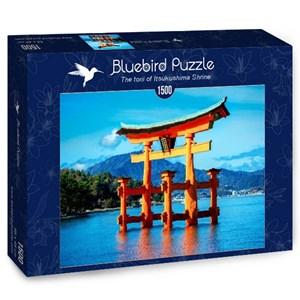 """Bluebird Puzzle (70009) - """"The torii of Itsukushima Shrine"""" - 1500 piezas"""