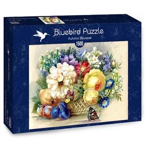 """Bluebird Puzzle (70026) - Nadiia Starovoitova: """"Autumn Bouquet"""" - 1500 piezas"""