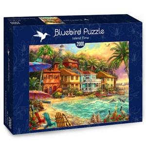 "Bluebird Puzzle (70208) - Chuck Pinson: ""Island Time"" - 2000 piezas"