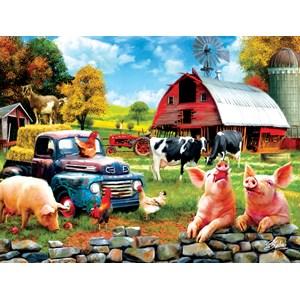 "SunsOut (42063) - Sharon Steele: ""Farm Days"" - 1000 piezas"