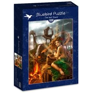 """Bluebird Puzzle (70429) - Cris Ortega: """"The last Stand"""" - 1500 piezas"""