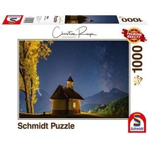 "Schmidt Spiele (59694) - Christian Ringer: ""Lockstone, Milky Way"" - 1000 piezas"