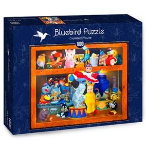 "Bluebird Puzzle (70421) - Gabriel Gressie: ""Crowded House"" - 1000 piezas"