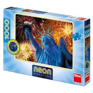 "Dino (54123) - ""Statue of Liberty"" - 1000 piezas"