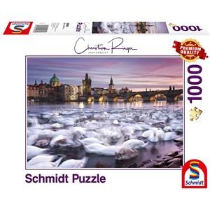 "Schmidt Spiele (59695) - Christian Ringer: ""Prague"" - 1000 piezas"