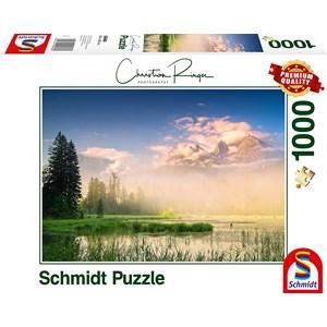 """Schmidt Spiele (59696) - Christian Ringer: """"Taubensee"""" - 1000 piezas"""
