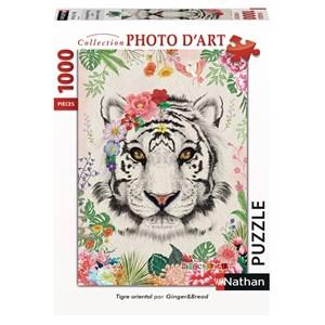 """Nathan (87635) - """"Oriental Tiger"""" - 1000 piezas"""