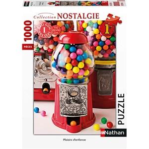 "Nathan (87636) - ""Plaisirs d'Enfance"" - 1000 piezas"
