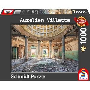 """Schmidt Spiele (59681) - Aurelien Villette: """"Sanatorium"""" - 1000 piezas"""