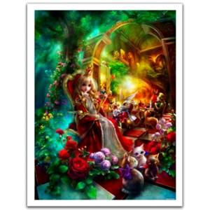 """Pintoo (h2107) - Shu Mizoguchi: """"Queen Alice"""" - 1200 piezas"""