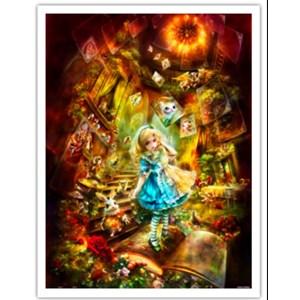 """Pintoo (h2111) - Shu Mizoguchi: """"Adventurous Alice"""" - 1200 piezas"""