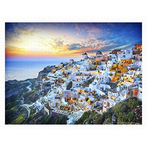 "Pintoo (h2073) - ""Beautiful Sunset of Greece"" - 1200 piezas"
