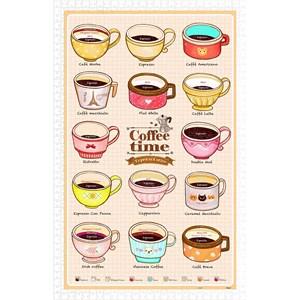 "Pintoo (h1593) - ""Cafe Life"" - 1000 piezas"