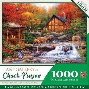 """MasterPieces (72010) - Chuck Pinson: """"Colors of Life"""" - 1000 piezas"""